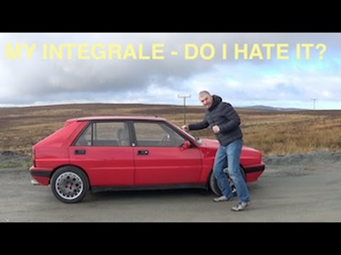 Driving the Lancia Delta Integrale in the Evo Triangle - 12 Cars Episode 13