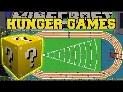 Minecraft: TNT OLYMPICS HUNGER GAMES - Lucky Block Mod - Modded Mini-Game