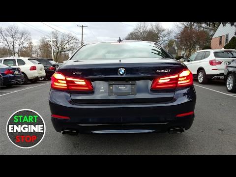 2017 BMW 540i xDrive Startup Exhaust Engine