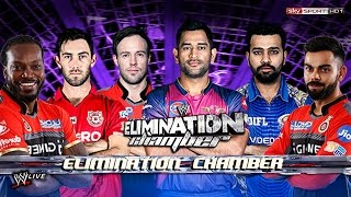 M.S. Dhoni VS AB de Villiers VS Rohit Sharma VS Virat Kohli VS Glenn Maxwell VS Chris Gayle - WWE