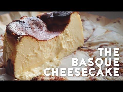 Basque Burnt Cheesecake Recipe | Creamy and gooey easy cheesecake