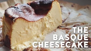 Basque Burnt Cheesecake Recipe  Creamy and gooey easy cheesecake