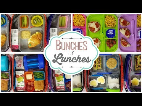 School Lunch Ideas || Bunches of Lunches Week 3