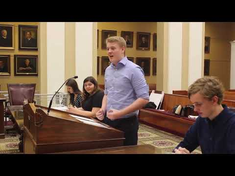 Lakeland Christian School - Mock Oral Argument (2018)