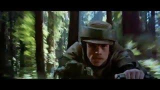 Star Wars - Return of The Jedi (1983) - Speeder Bike Chase (Napisy PL)