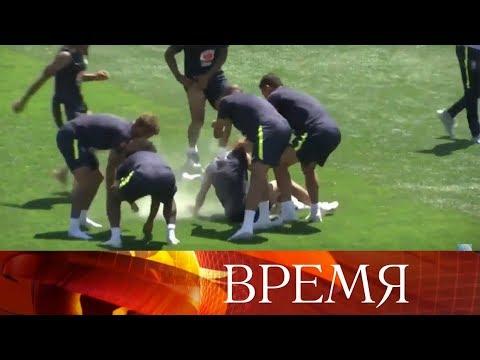 Россия встречает...