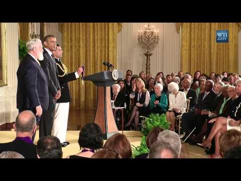 National Arts & Humanities Medals Awarded - Full Ceremony