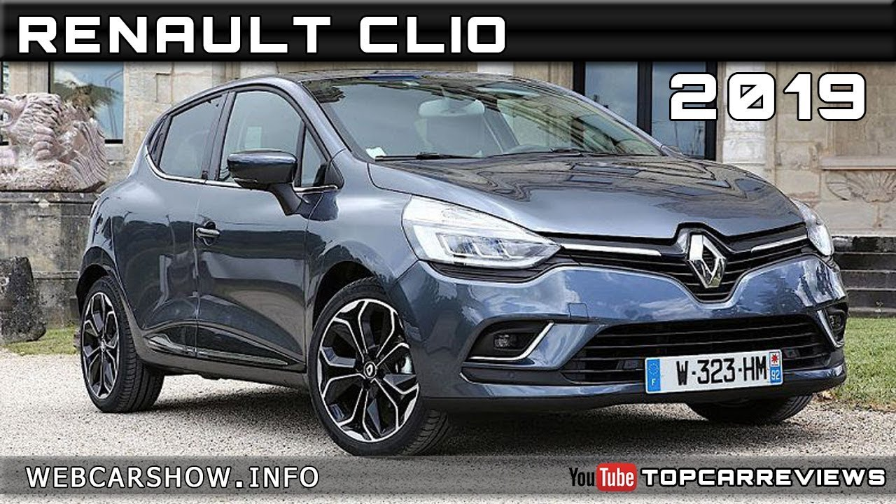 2019 renault clio review rendered price specs release date. Black Bedroom Furniture Sets. Home Design Ideas
