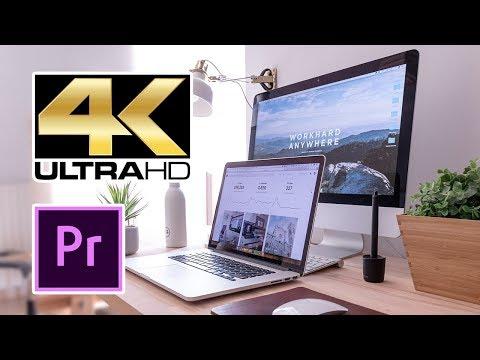 Mẹo Dựng Phim 4K Trên Máy Tính Cấu Hình Yếu - Premiere  Pro