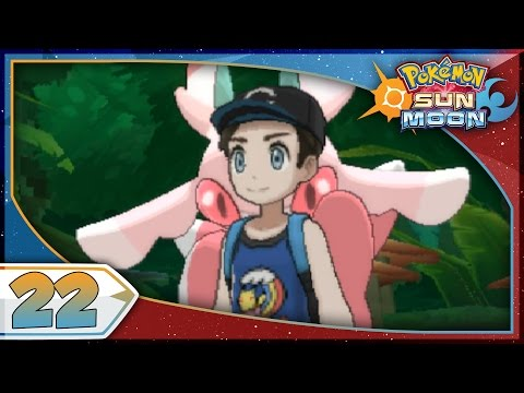 Pokémon Sun And Moon - Part 22 | Mallow's Island Trial! [NEW Nintendo 3DS 100% Walkthrough]
