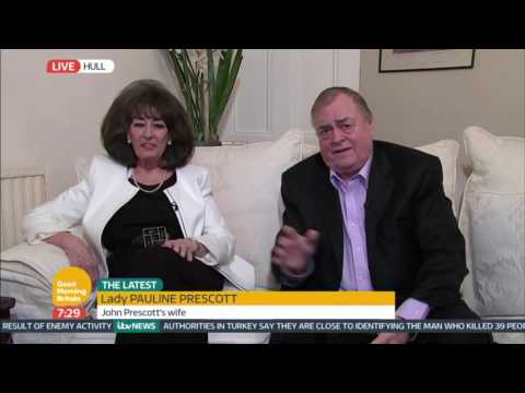 Lord and Lady Prescott | Good Morning Britain