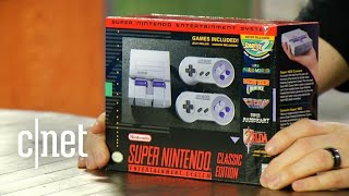 Nintendo's SNES Classic Edition: Unboxing the retro gaming console