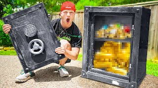What's Inside The ABANDONED SAFE? (OPENED)