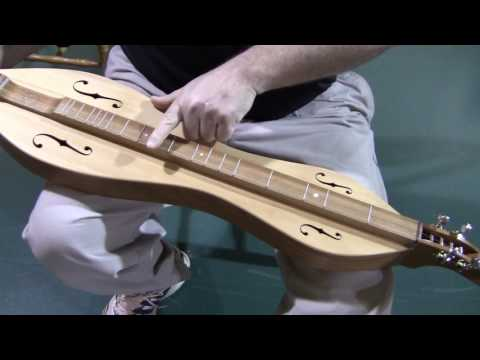 8111764 folkcraft dulcimer demo