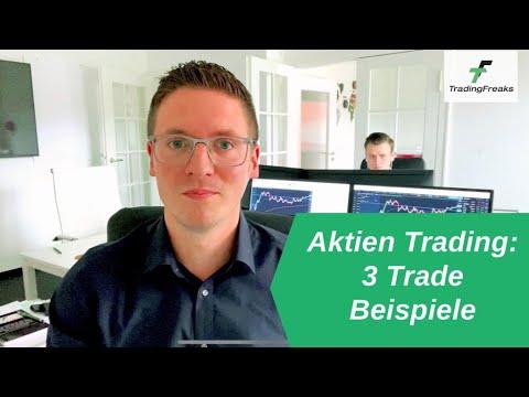 Aktien Trading: Einblicke in unsere Strategie (3 Trade-Beispiele) ✅