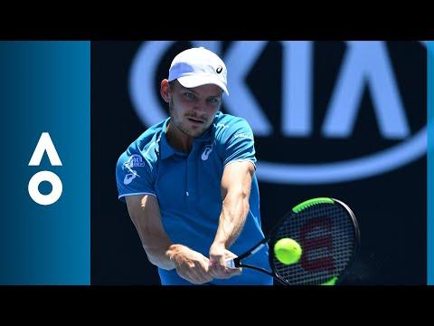 David Goffin v Matthias Bachinger match highlights (1R) | Australian Open 2018