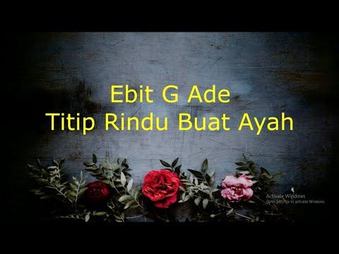 Lagu Ebiet G Ade Titip Rindu Buat Ayah Stafa Band