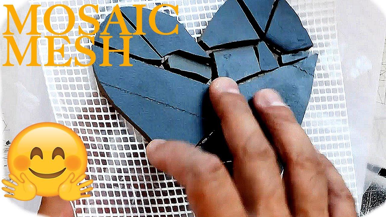 Mesh And Designing Mosaic Tile Art