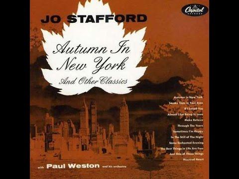 Jo Stafford ~ The Wish That I Wish Tonight