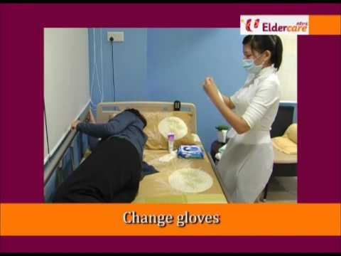 Diaper Changing - Eldercare Training Video by CFS