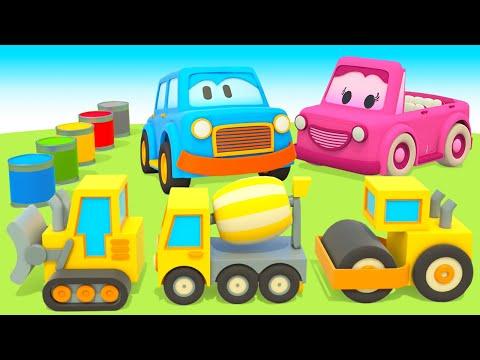 Мультики Умные машинки и строительная техника - Про машинки для малышей 0+ Игры развивающие