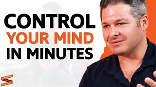 One Simple Trick To STOP NEGATIVE THOUGHTS & Control Your Mind!  Dr. Ethan Kross & Lewis Howes