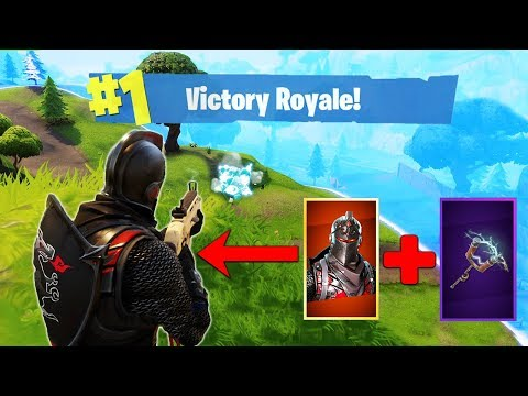 The LEGENDARY Black Knight Loadout! [Fortnite]