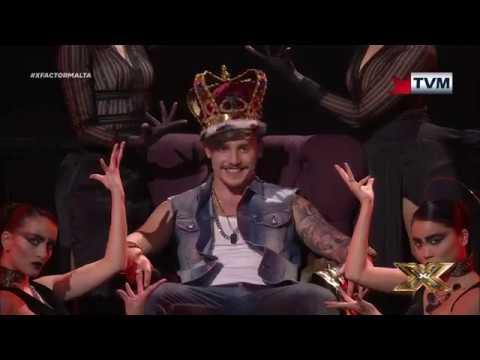 Owen Leuellen takes us to Gangsta's Paradise   X Factor Malta   Live Show 3