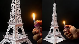 How to Make Eiffel Tower With Paper | Valentine day Special | Origami/Paper Eiffel Tower
