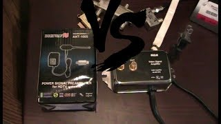 TV Antenna Amplifier comparison