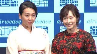 フィギュアスケーターの浅田真央と、卓球の石川佳純選手が、寝具メーカ...