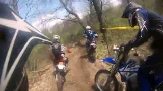 2013 Battle Creek 1 - (Helmet Cam) AMA D14 Hare Scramble Series