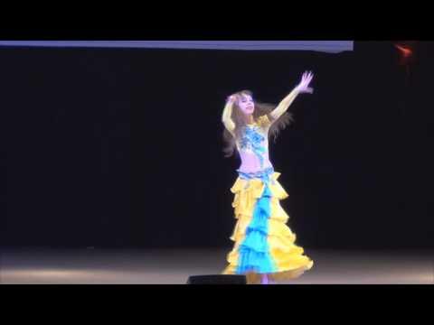 Восточные танцы Юниоры соло классика исп Валерия