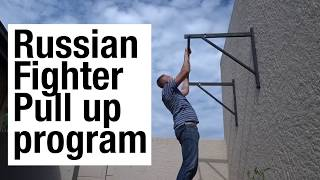 I did the Russian fighter pull up program