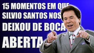 Silvio Santos deixou de boca aberta
