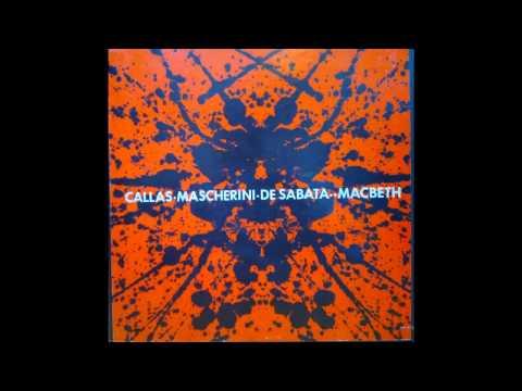 Callas, Mascherini, De Sabata - Macbeth, 1952 La Scala -Complete Opera BJR Vinyl BEST SOUND