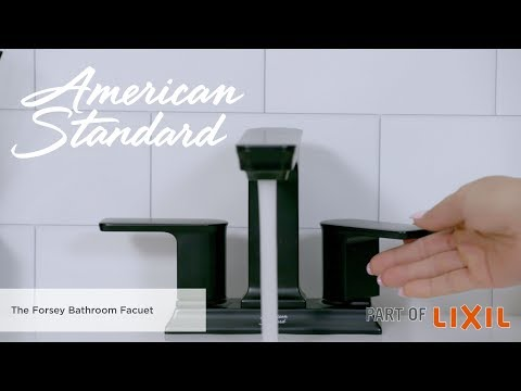 Introducing The Forsey Centerset Faucet By American Standard