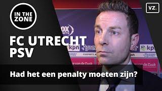 FC Utrecht - PSV: Had het een penalty moeten zijn?