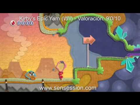 Kirby's Epic Yarn analisis review