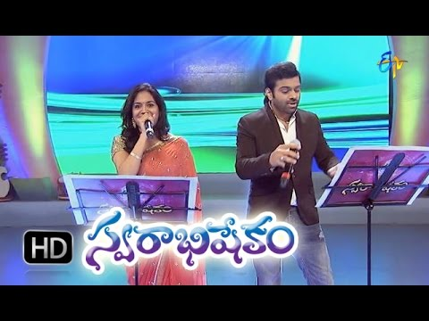 Ragulutondi Mogali Song - Sunitha, Sri Ramachadnra Performance In ETV Swarabhishekam -  4th Oct 2015