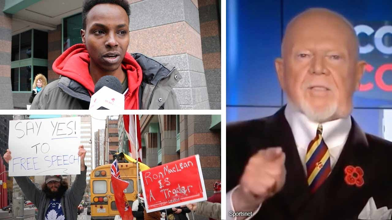"""Don did nothing wrong!"" Cherry ""is an idol"": Supporters protest outside Rogers 