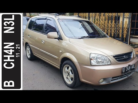 In Depth Tour Kia Carens II [RS] Facelift (2004) - Indonesia