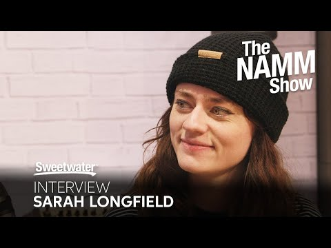 Sarah Longfield Interview at Winter NAMM 2020