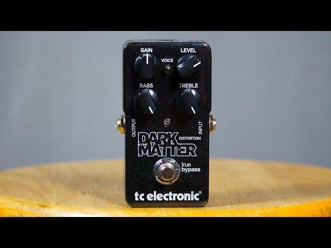 Ambient Guitar Gear Review - TC Electronic Dark Matter Distortion