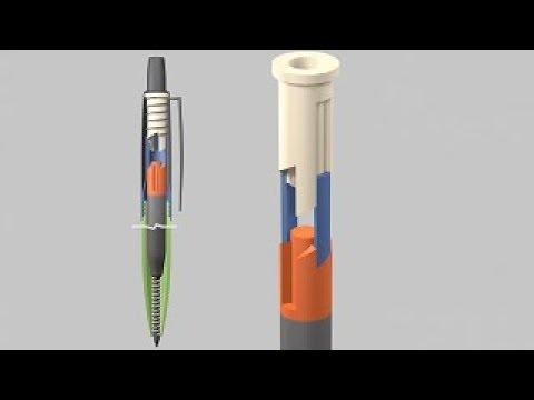 Tükenmez Kalem Nasıl Çalışır ? | 4 Click