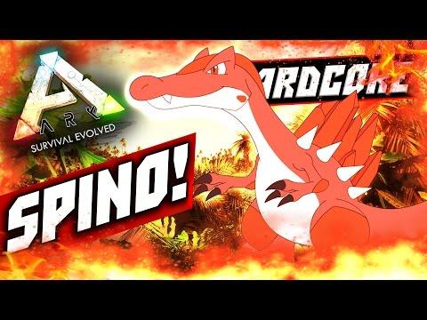 ARK: Survival Evolved — СИЛА СПИНОЗАВРА В АРК! (Spinosaurus) #12