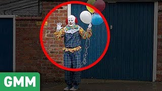 Real Clowns Creepier than Pennywise from IT