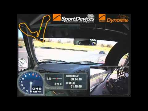 SaxMax - Croft 2013 Race 1 - Martin Poole
