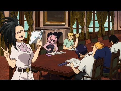 Study with Yaoyorozu Momo Boku no Hero Academia【僕のヒーローアカデミア】