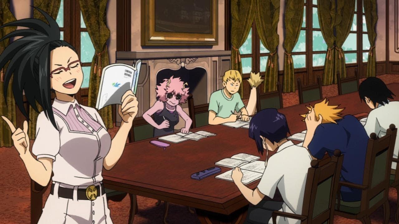 Study With Yaoyorozu Momo Boku No Hero Academia 僕のヒーローアカデミア